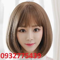 Bộ tóc giả tơ nhật có da đầu TB14