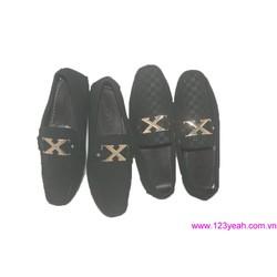 Giày mọi da nam X men phong cách sành điệu
