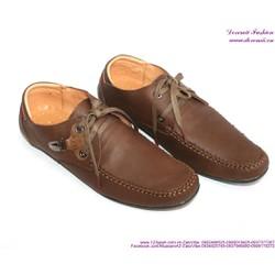 Giày da nam công sở cột dây phong cách sang trọng