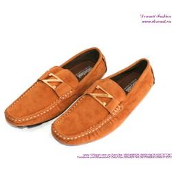 Giày mọi nam da lộn chữ Z phong cách sành điệu
