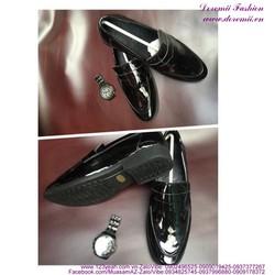 Giày nam công sở da bóng lịch lãm sang trọng