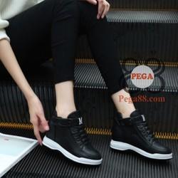 Giày nữ tăng chiều cao dây co giãn xinh xắn