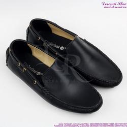 Giày mọi da nam phong cách đơn giản sang trọng