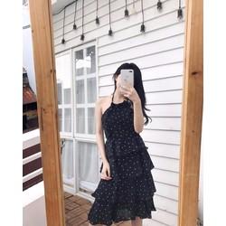Đầm chấm bi dễ thương