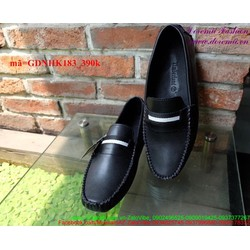 Giày mọi da nam công sở mẫu mới sành điệu sang trọng