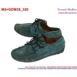 Giày mọi da nam thắt dây thiết kế sành điệu