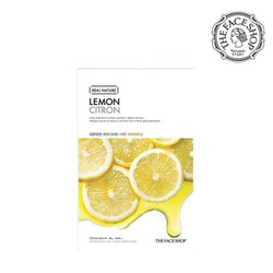 Mặt nạ chanh The Face Shop Real Nature Mask #Lemon