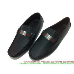 Giày da trơn khóa  phong cách lịch lãm