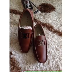Giày da công sở nam khóa sắt tinh tế sang trọng