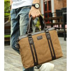 Túi xách công sở nam da lộn cao cấp