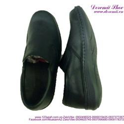 Giày da thật cao cấp công sở dạng xỏ cực bền sang trọng