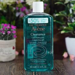 Sữa rửa mặt dành cho da nhờn mụn Avene Cleanance Cleansing Gel- 300 ml