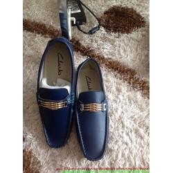 Giày da công sở nam khóa sắt ngang lịch lãm sang trọng