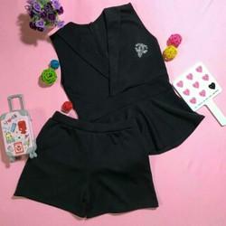 Set áo giả vest quần short
