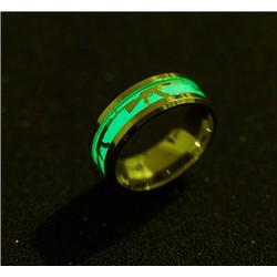 Nhẫn nam dạ quang phát sáng phong cách Âu Mỹ NN039