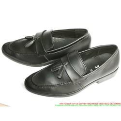 Giày da nam công sở thắt nơ đẳng cấp sang trọng
