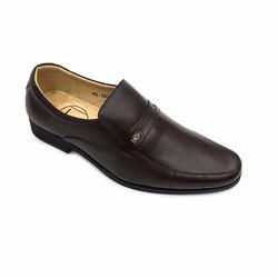 Giày tây da thật màu nâu sang trọng thời trang