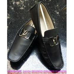 Giày da nam công sỏ khóa tinh tế sang trọng