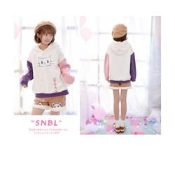 Nhiều Size - Áo Khoác Phối Màu Xinh - WN110