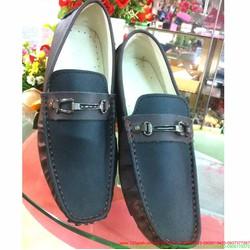 Giày mọi da nam công sở khóa sắt sành điệu sang trọng
