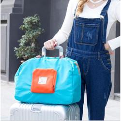 Túi xách du lịch gấp gọn tiện dụng 42 x 32cm - Thu gọn 16 x 17cm