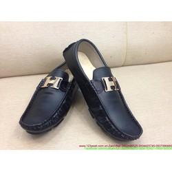 Giày da nam công sở khóa chữ H sang trọng