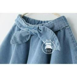 chân váy jean cho bé đến 7 tuổi