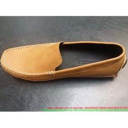 Giày mọi da nam công sở thiết kế đơn giản sang trọng