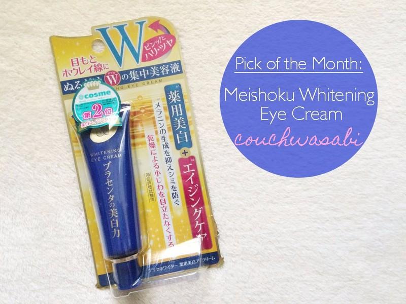 Kem dưỡng mắt Meishoku PlaceWhiter Medicated Whitening Eye Cream 30g 3