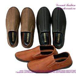 Giày da nam mẫu mới phong cách sành điệu