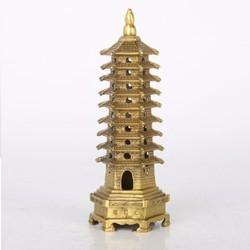 Tháp văn xương bằng đồng thờ cúng có nhiều kích thước