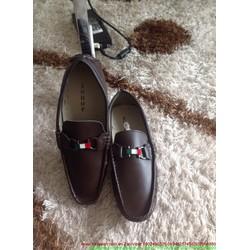 Giày da công sở nam khóa Feragamo lịch lãm sành điệu