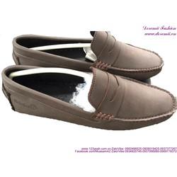 Giày mọi da nam phong cách đơn giản sành điệu