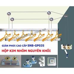 Giàn phơi thông minh cho chung cư loại cao cấp GP035