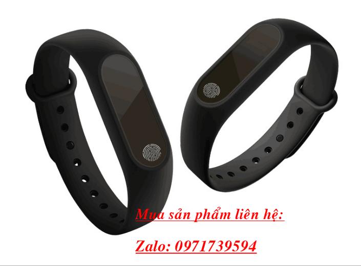 Vòng đeo tay thông minh M2-đo nhịp tim huyết áp 1