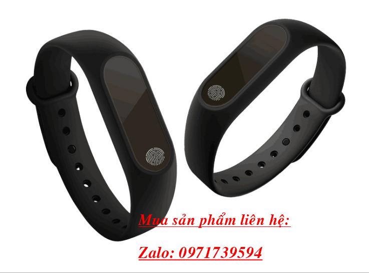 Vòng đeo tay thông minh M2-đo nhịp tim huyết áp 6