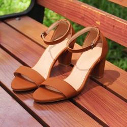 Giày Cao Gót size lớn 41 42 43 quai ngang gót vuong 5cm