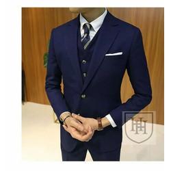 Áo vest xanh đen cao cấp, chất tốt giá tốt