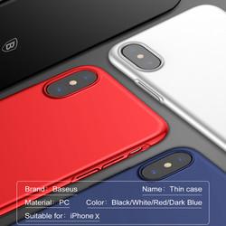 Ốp lưng iphone X hãng Baseus Ultra Slim Thin Series