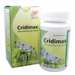 Thực phẩm chức năng Cridimax