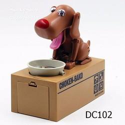 Đồ Chơi Chó Robot ăn tiền xu - Choken Bako Dog Bank