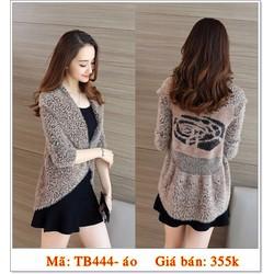 tb444- áo khoác len lông