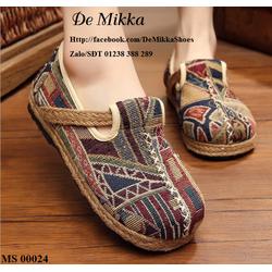 DeMikka giày mọi thổ cẩm