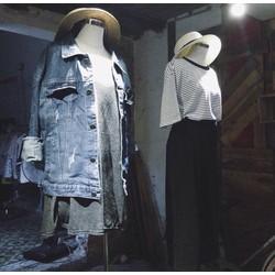 sỉ áo khoác jeans oversize