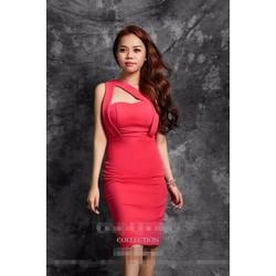 Đầm Ôm Body Thiết Kế 2 Dây Cách Điệu #61017
