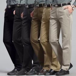 Bộ 2 Quần kaki nam trung niên