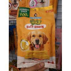 Snack mềm Thái Lan cho chó Bearing Phô Mai thơm ngon Jumbo pack 100g