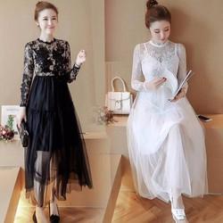 Váy nữ chất liệu voan