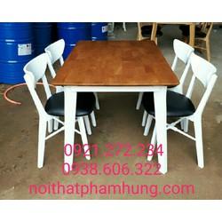 Bộ bàn ghế ăn phong cách châu âu giá rẻ