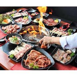 Buffet trưa nướng lẩu tại nhà hàng NamYang  View Hồ Tây siêu đẹp